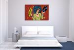 Disco Diva Canvas Art Print on the wall