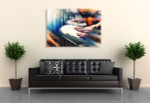 Hands On Percussion Canvas Print on the wall