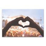 Heart Shape Canvas Print