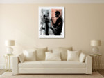 Jazz In New York Wall Art Print on the wall