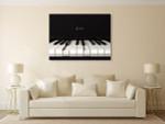 Jazz Piano Art Print on the wall