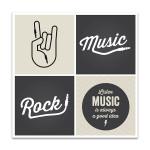 Music Design Wall Art Print