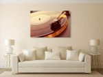 Turntable Canvas Art Print on the wall