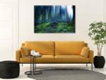 Fairytale Forest Canvas Art Print on the wall