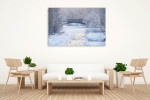 Frosty Morning Art Print on the wall