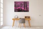 Magic Wood Wall Print on the wall
