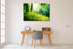 Spring Tranquil Nature Art Print on the wall