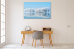 Winter Reflections Canvas Art Print on the wall