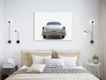 Amazing Vintage Car Art Print on the wall
