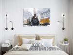 Durango and Silverton Art Print on the wall