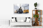 Durango and Silverton Art Print on the wall
