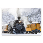 Durango and Silverton Art Print