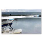 Floatplane In Alaska Wall Art Print