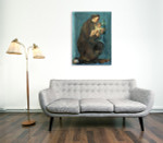 Saint Anthony Of Padua Wall Art Print on the wall