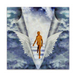 Stairs To Heaven Wall Print