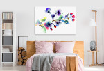 Blossoming Tree Branch Canvas Print on the wall