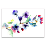 Blossoming Tree Branch Canvas Print
