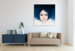 Fashion Illustration Canvas Print on the wall