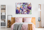 Flower Garden Canvas Art Print on the wall