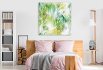 Tropical Leaves Art Print on the wall