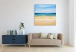 Tropical Sea Art Print on the wall