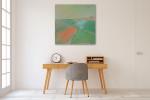 Brooke Howie | Green Landscape on the wall