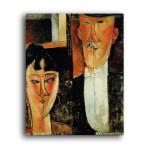 Modigliani   Bride and Groom