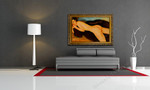 Reclining Nude on the wall