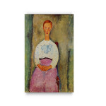 Modigliani   Girl with a Polka Dot Blouse