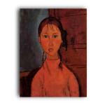 Modigliani   Girl with Braids