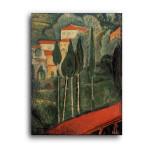 Modigliani   Landscape Southern France