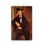 Modigliani | Portrait of Mario Varvogli