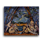 Paul Cezanne   Large Bathers 3