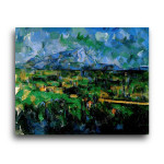 Paul Cezanne | Mont Sainte-Victoire Seen from Les Lauves