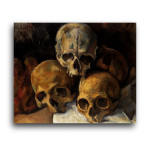 Paul Cezanne | Pyramid of Skulls