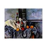 Paul Cezanne   Still Life with Peppermint Bottle