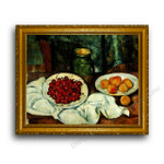 Paul Cezanne   Still life with Plate of Cherries
