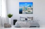 Greek Islands on the wall