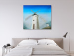 The Windmill on the wall