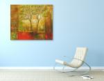 Resplendent Trees on the wall