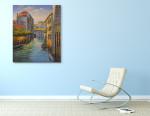 Gondola on the wall
