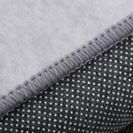 Latte Geometric Patterned Rug
