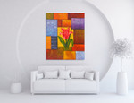 Florid Flower on the wall