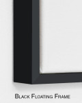 Perfect Shades   Black & White Painting for Modern Interior Wall Art