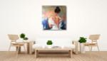 Li Zhou | My Time III on the wall