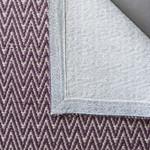 Purple Geometric Patterned Rugs