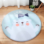 Bear Cartoon Kids Room Rug
