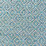 Blue Diamond Geometric Patterned Rugs