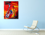 Jazz on the wall