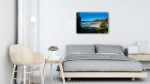 Port Macquarie Art Print Oxley Beach on the wall